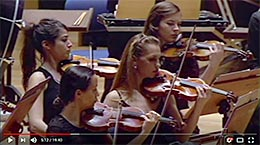 Gustav Mahler 4. Symphonie, Video auf YouTube