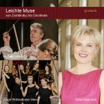 """CD-Cover """"Leichte Muse"""" mit Ildiko Raimondi, Dirigent Michael Lessky und der Jungen Philharmonie"""